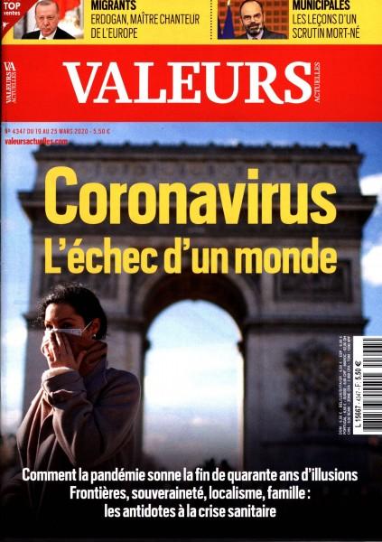 VALEURS ACTUELLES 4347/2020