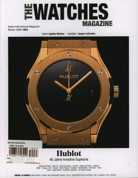 WATCHES MAGAZINE 63/2021