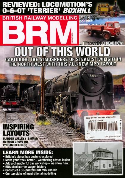 BRM BRITISH RAILWAY MODELLING 1/2021