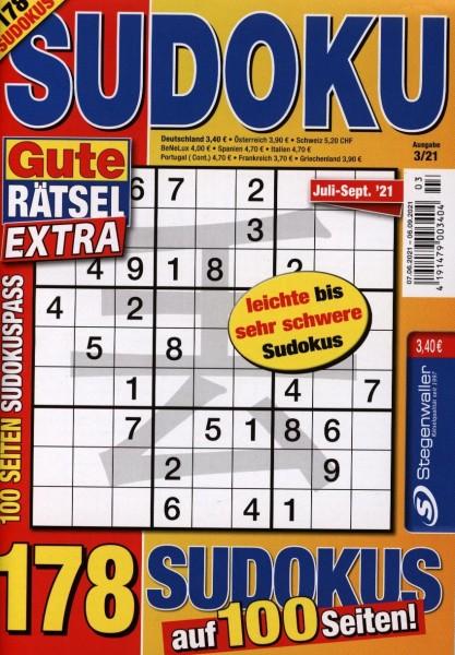 Gute Rätsel Sudoku Extra 3/2021