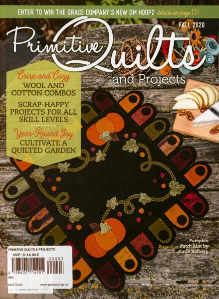 Primitive Quilts and PROJECTS 3/2020