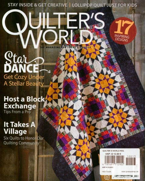 QUILTER´S WORLD 13/2021