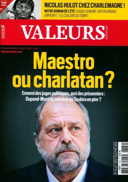 VALEURS ACTUELLES 4364/2020