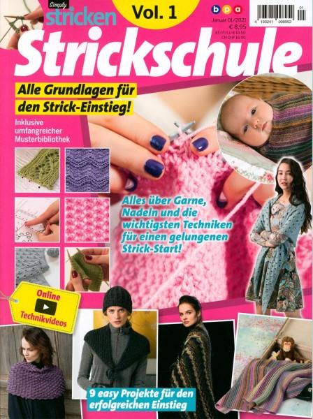 Simply stricken Strickschule 1/2021