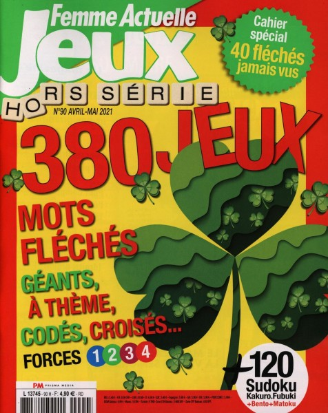 FEMME ACTUELLE JEUX H.S. 90/2021
