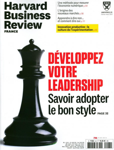 Harvard Business Review FRANCE 43/2021