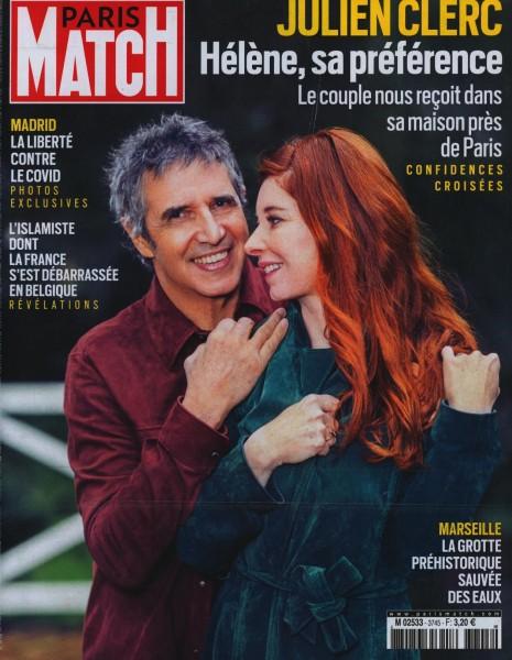 PARIS MATCH 3745/2021