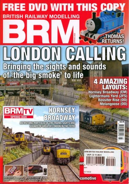 BRM BRITISH RAILWAY MODELLING 4/2020