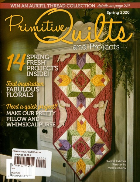 Primitive Quilts and PROJECTS 1/2020