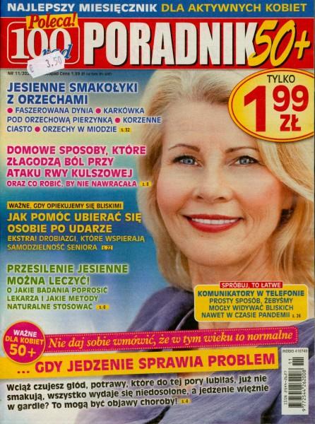100 rad PORADNIK 50+ 11/2020