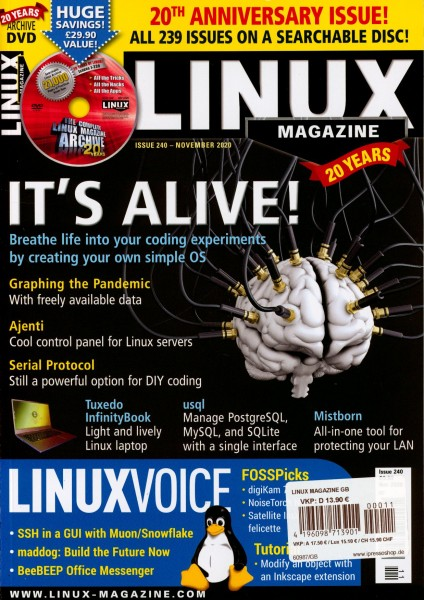 LINUX MAGAZINE 11/2020