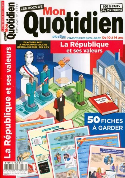LES DOCS DE Mon Quotidien 76/2021