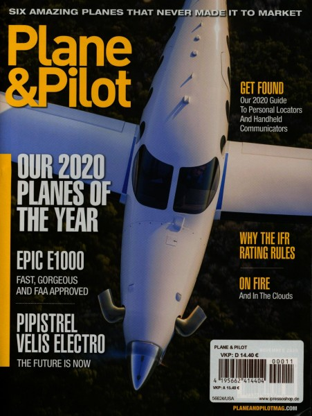 Plane & Pilot 11/2020