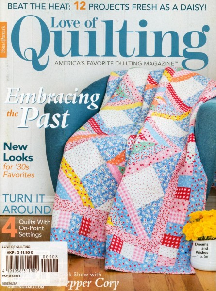 Love of Quiliting 8/2020
