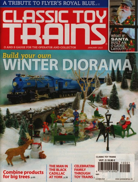 CLASSIC TOY TRAINS 1/2021