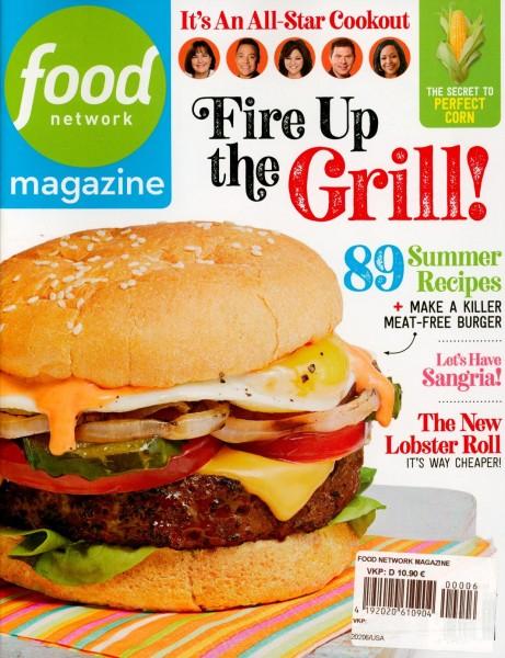 food network magazine 6/2020