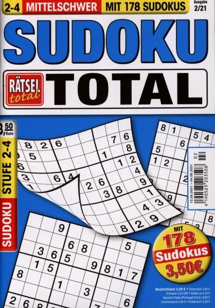 Rätsel tot.SudokuTotal2-4 2/2021