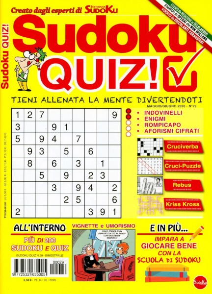 Sudoku QUIZ! 29/2020
