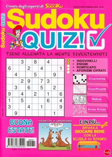 Sudoku QUIZ! 31/2020