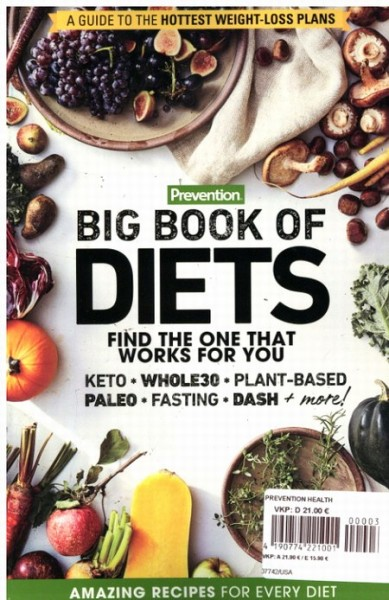 Prevention BIG BOOK OF DIETS 3/2020