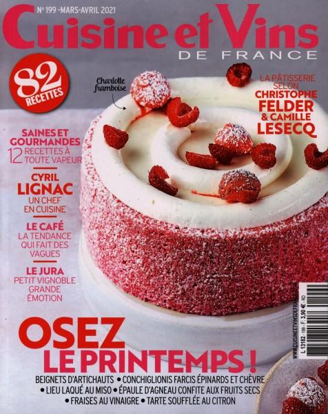 Cuisine et Vins DE FRANCE 199/2021