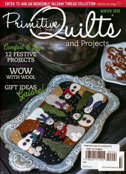 Primitive Quilts and PROJECTS 4/2020