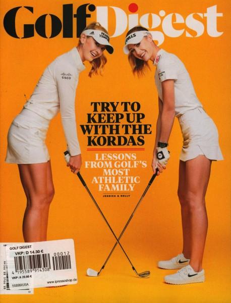 Golf Digest 12/2020