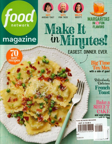 food network magazine 5/2020
