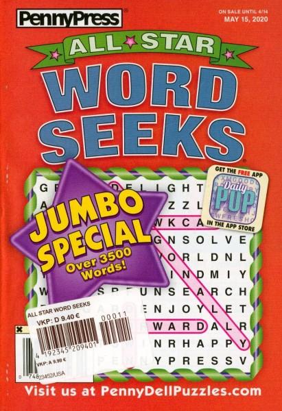 ALL STAR WORD SEEKS 11/2020
