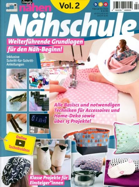 Simply nähen Nähschule 2/2021