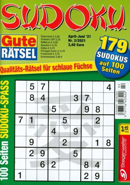 Gute Rätsel Spezial Sudoku 2/2021