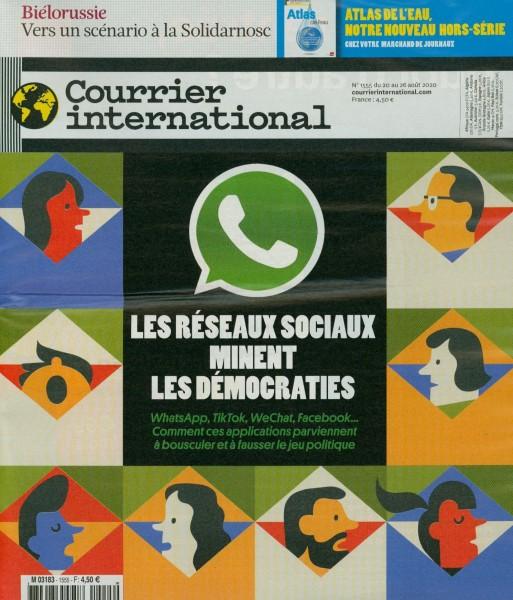 Courrier international 1555/2020