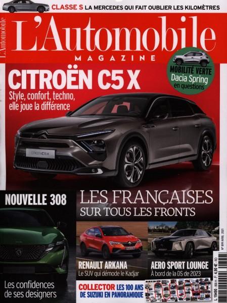 L'Automobile MAGAZINE 899/2021
