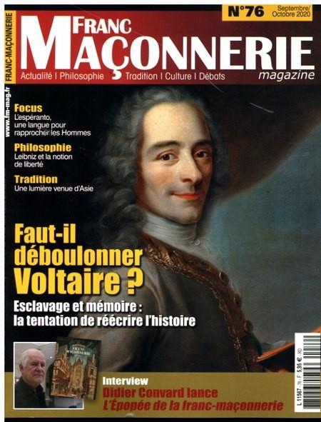 FRANC MACONNERIE magazine 76/2020