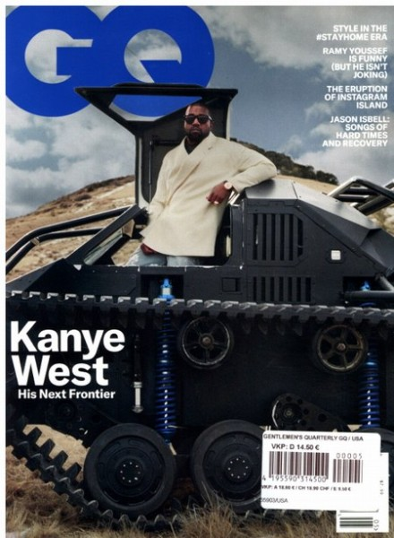 GENTLEMEN'S QUARTERLY GQ 5/2020