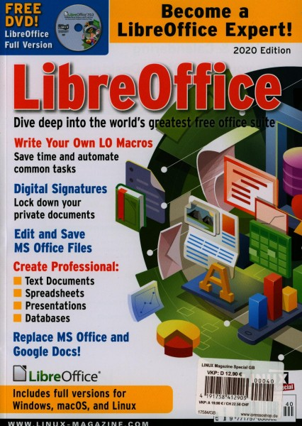 LINUX Magazine Special 40/2020