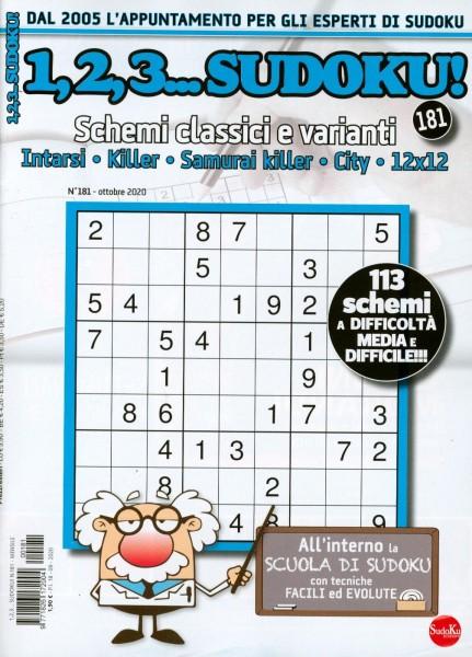 1,2,3...Sudoku! 181/2020