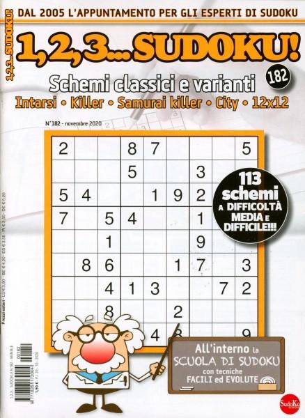 1,2,3...Sudoku! 182/2020