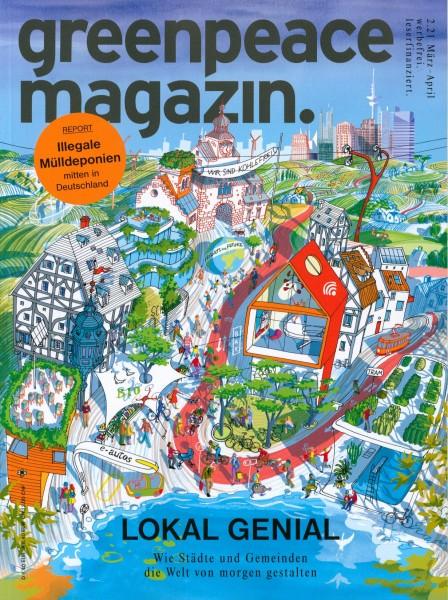greenpeace magazin. 2/2021