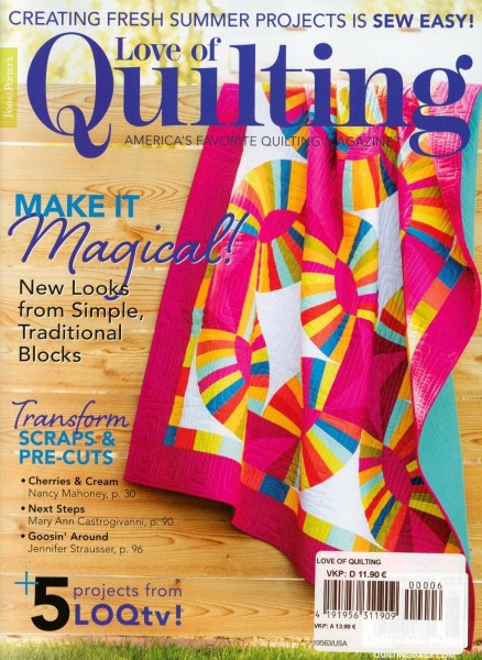 Love of Quiliting 6/2020