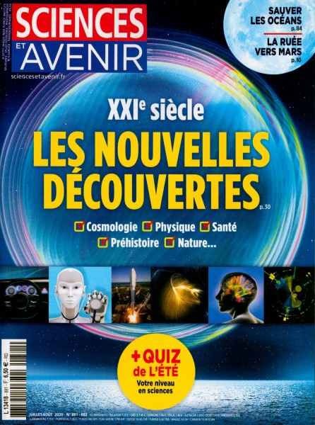 SCIENCES ET AVENIR 881/2020