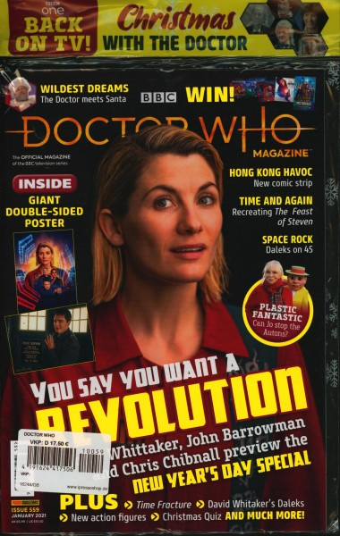 DOCTOR WHO MAGAZINE 59/2021