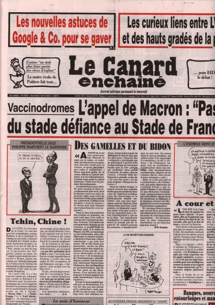 Le Canard enchaînè 5239/2021