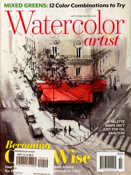 WATERCOLOR ARTIST 10/2020