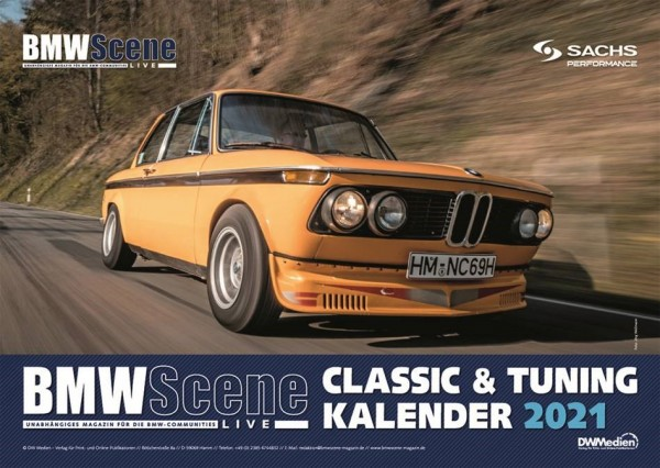 BMW Scene LIVE Classic & Tuning Kalender 2021