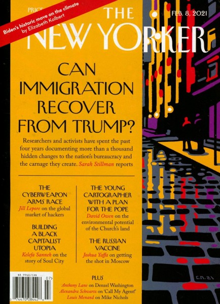 THE NEW YORKER 7/2021