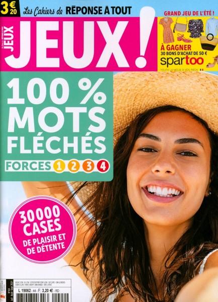CAHIERS DE JEUX 100 % 44/2021
