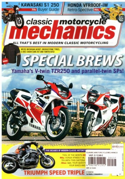 classic motocycle mechanics 7/2020