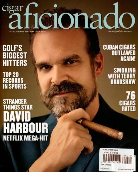 cigar aficionado 10/2020