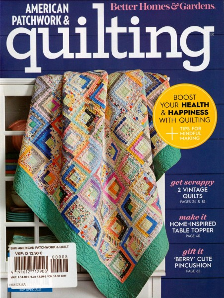 AMERICAN PATCHWORK & quilting 8/2020